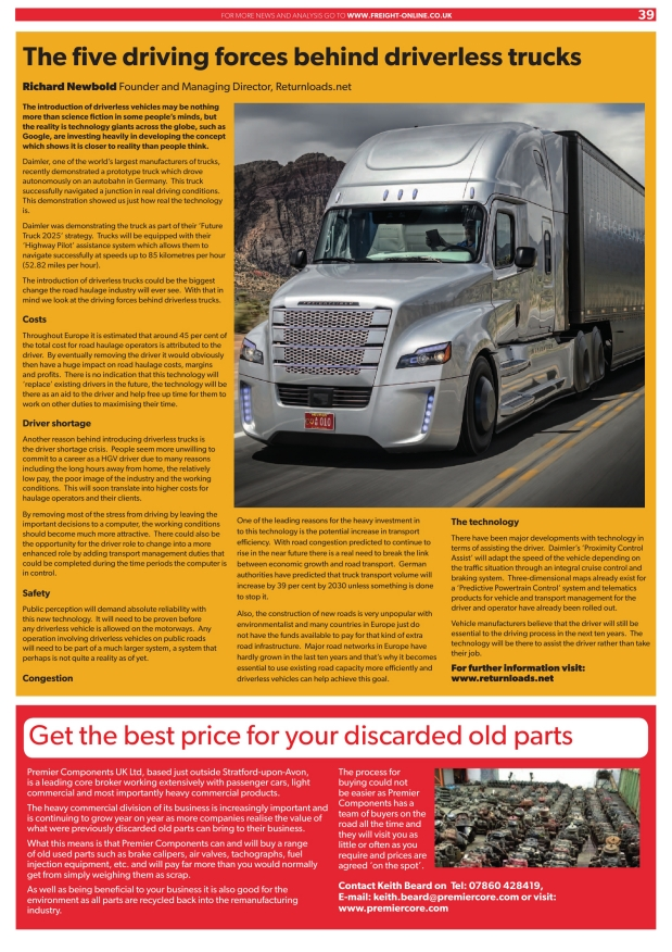 Freight Industry Times